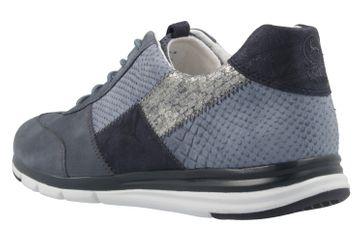 GABOR comfort - Damen Sneaker - Blau Schuhe in Übergrößen – Bild 2