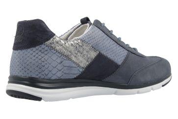 Gabor Sneaker in Übergrößen Grau 66.306.36 große Damenschuhe – Bild 3