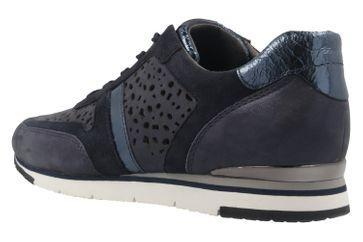 Gabor Sneaker in Übergrößen Blau 64.324.66 große Damenschuhe – Bild 2