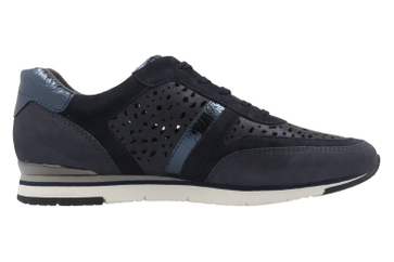 Gabor Sneaker in Übergrößen Blau 64.324.66 große Damenschuhe – Bild 4