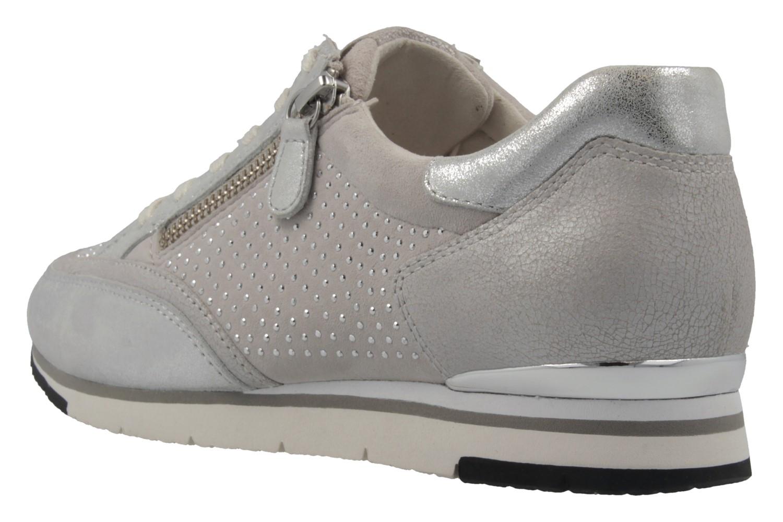 Gabor Sneaker in Übergrößen Silber 64.322.13 große Damenschuhe – Bild 2