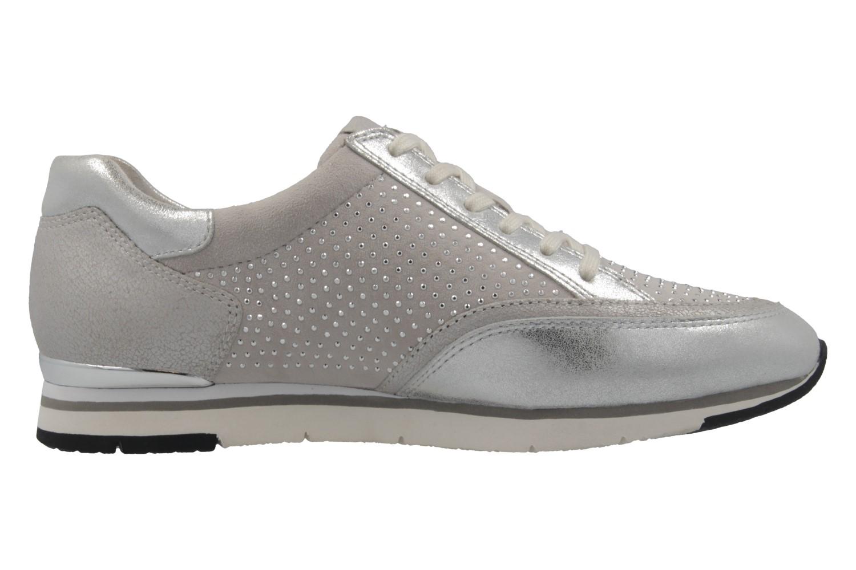 GABOR - Damen Sneaker - Silber Schuhe in Übergrößen – Bild 4