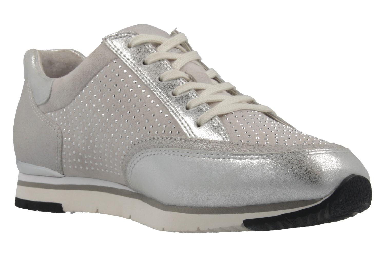 Gabor Sneaker in Übergrößen Silber 64.322.13 große Damenschuhe – Bild 5