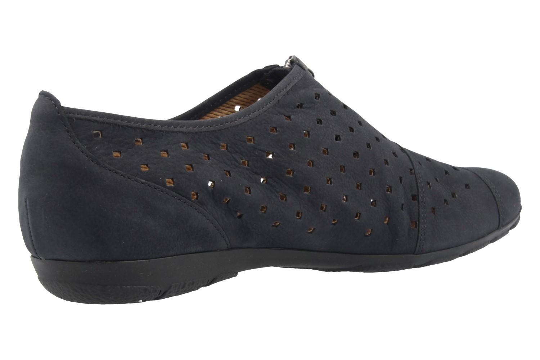 GABOR - Damen Halbschuhe - Blau Schuhe in Übergrößen – Bild 3
