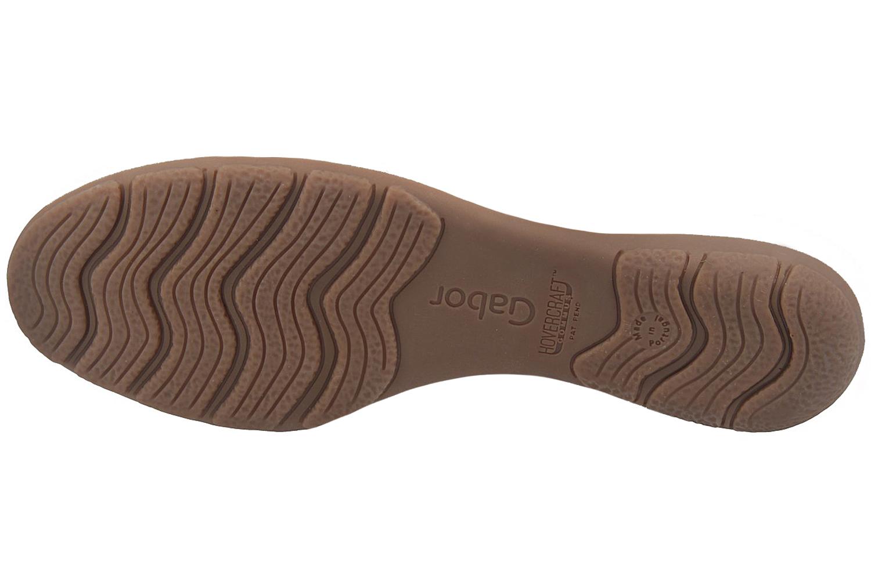 GABOR - Damen Halbschuhe - Weiß Schuhe in Übergrößen – Bild 6
