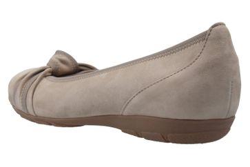 GABOR - Damen Ballerinas - Grau Schuhe in Übergrößen – Bild 2