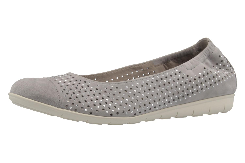 GABOR - Damen Ballerinas - Grau Schuhe in Übergrößen – Bild 1
