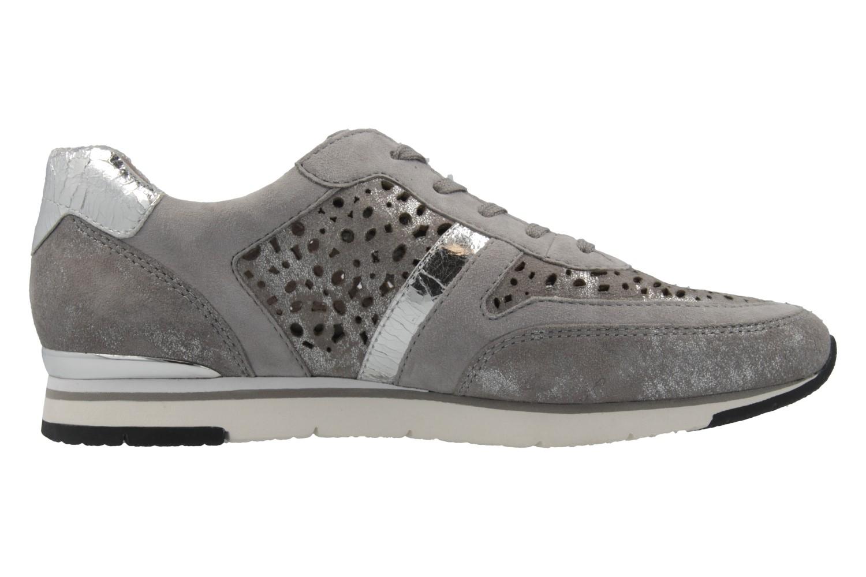 GABOR - Damen Sneaker - Grau Schuhe in Übergrößen – Bild 4