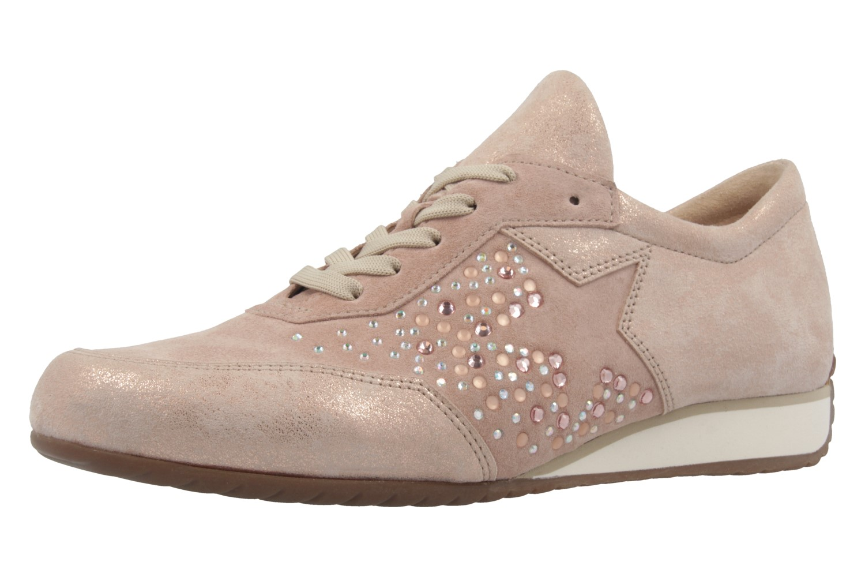 GABOR comfort - Damen Halbschuhe - Rosa Metallic Schuhe in Übergrößen – Bild 1