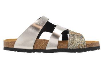 DR. BRINKMANN - Damen Pantoletten - Gold Metallic Schuhe in Übergrößen – Bild 4