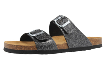 DR. BRINKMANN - Damen Pantoletten - Schwarz Schuhe in Übergrößen