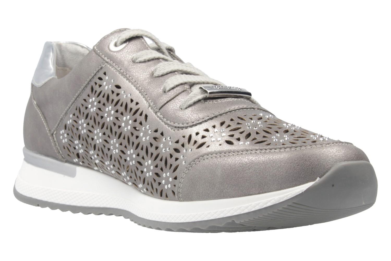 REMONTE - Damen Sneaker - Silber Schuhe in Übergrößen – Bild 5