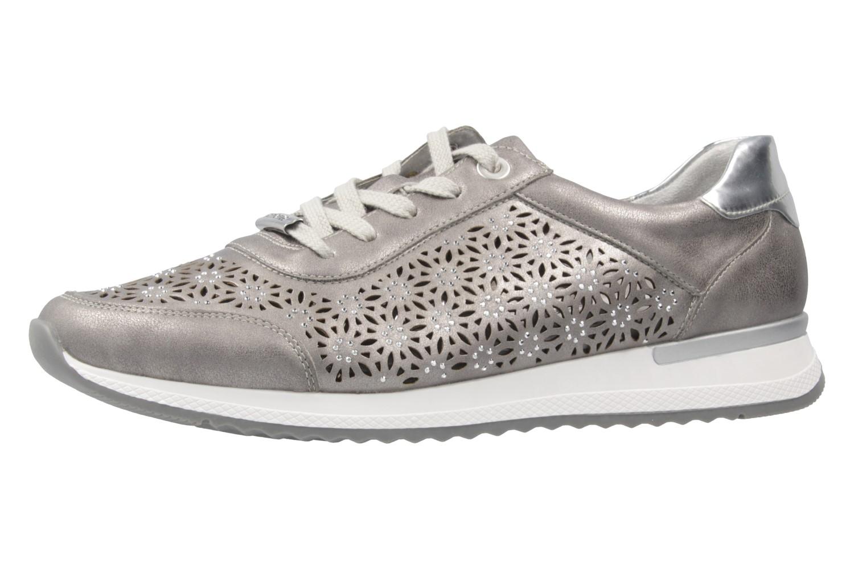 REMONTE - Damen Sneaker - Silber Schuhe in Übergrößen – Bild 1