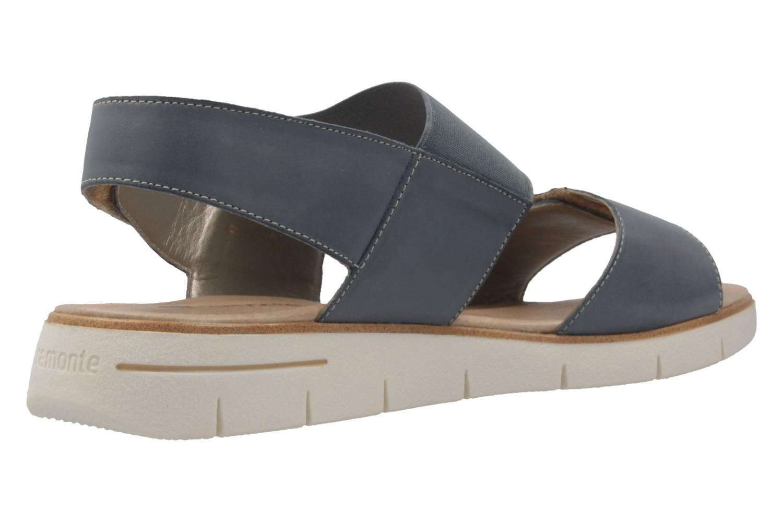 Remonte Sandalen in Übergrößen Blau D3955-14 große Damenschuhe – Bild 3