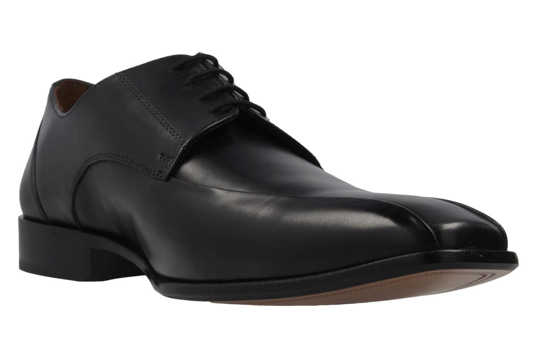 Manz Grandada AGO Business-Schuhe in Übergrößen Schwarz 116005-03-001 große Herrenschuhe – Bild 5