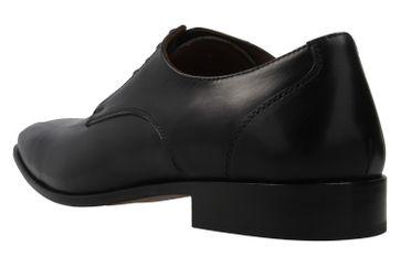 Manz Grandada AGO Business-Schuhe in Übergrößen Schwarz 116005-03-001 große Herrenschuhe – Bild 2