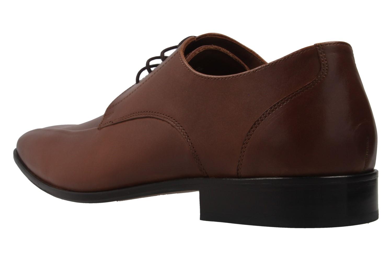 Manz Granada AGO Business-Schuhe in Übergrößen Braun 116005-03-175 große Herrenschuhe – Bild 2
