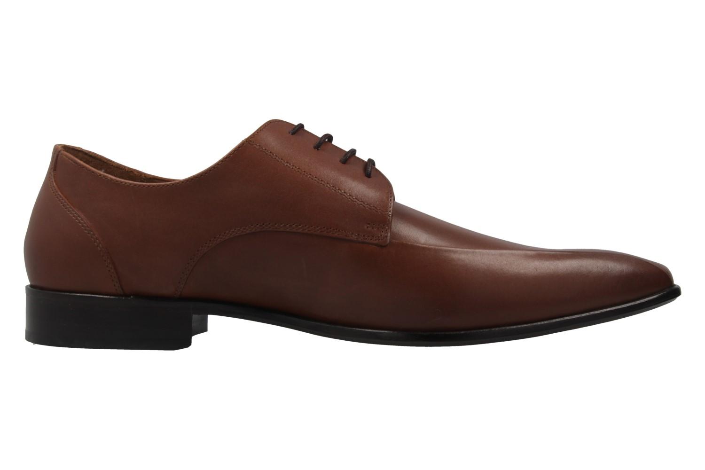 Manz Granada AGO Business-Schuhe in Übergrößen Braun 116005-03-175 große Herrenschuhe – Bild 4