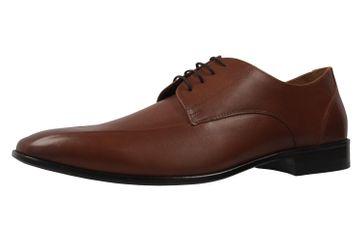 Manz Granada AGO Business-Schuhe in Übergrößen Braun 116005-03-175 große Herrenschuhe – Bild 1