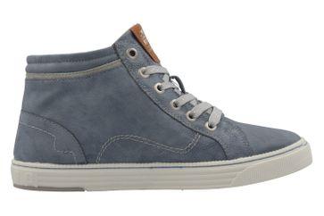 Mustang Shoes High Top Sneaker in Übergrößen Blau 1246-502-875 große Damenschuhe – Bild 4