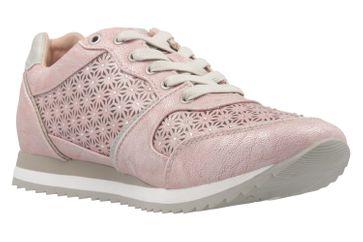 Mustang Shoes Sneaker in Übergrößen Pink 1237-301-555 große Damenschuhe – Bild 5