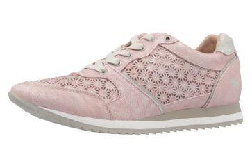 Mustang Shoes Sneaker in Übergrößen Pink 1237-301-555 große Damenschuhe – Bild 1