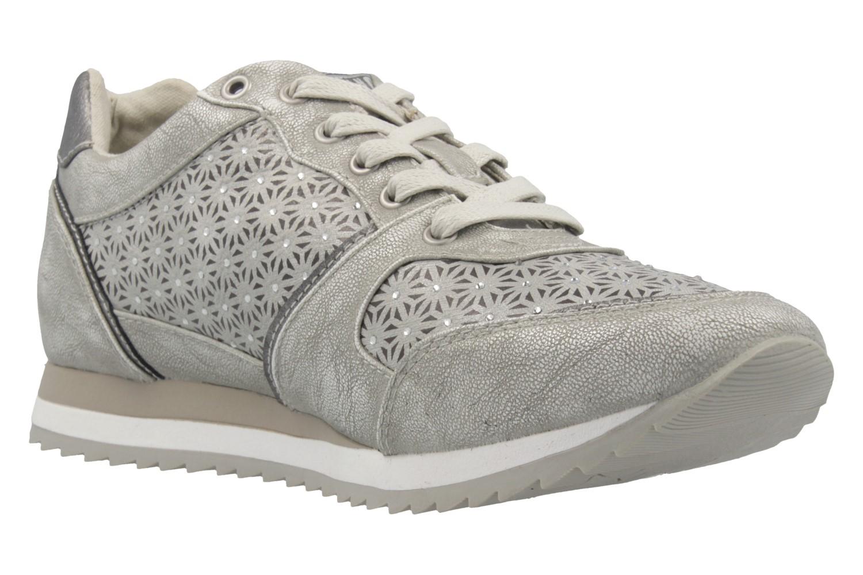 MUSTANG - Damen Sneaker - Silber Schuhe in Übergrößen – Bild 5