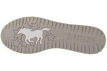 MUSTANG - Damen Sneaker - Silber Schuhe in Übergrößen – Bild 6