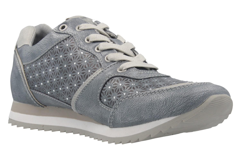 Mustang Shoes Sneaker in Übergrößen Blau 1237-301-852 große Damenschuhe – Bild 5