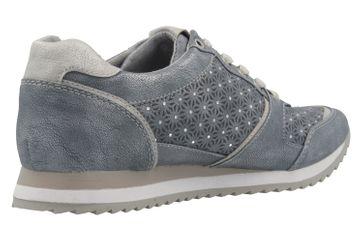Mustang Shoes Sneaker in Übergrößen Blau 1237-301-852 große Damenschuhe – Bild 3