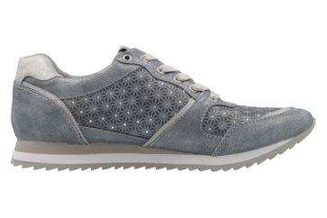 Mustang Shoes Sneaker in Übergrößen Blau 1237-301-852 große Damenschuhe – Bild 4