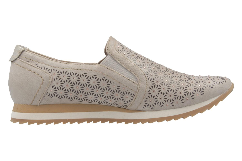 MUSTANG - Damen Slipper - Beige Schuhe in Übergrößen – Bild 4