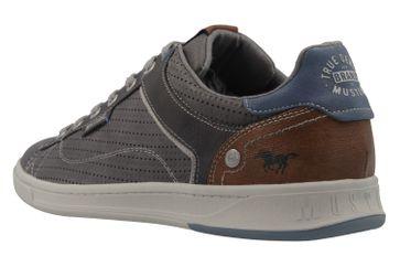 Mustang Shoes Halbschuhe in Übergrößen Grau 4098-308-2 große Herrenschuhe – Bild 2