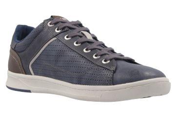 Mustang Shoes Halbschuhe in Übergrößen Blau 4098-308-800 große Herrenschuhe – Bild 5