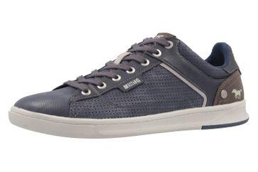 Mustang Shoes Halbschuhe in Übergrößen Blau 4098-308-800 große Herrenschuhe – Bild 1