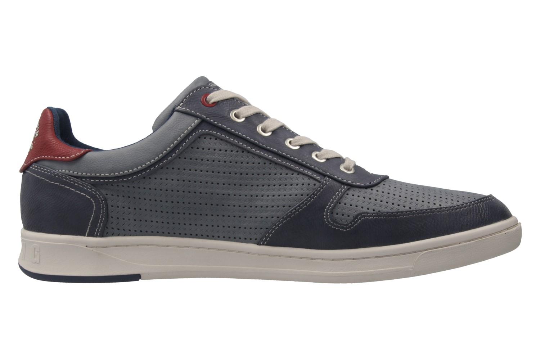 MUSTANG - Herren Halbschuhe - Blau Schuhe in Übergrößen – Bild 4