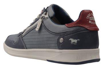 Mustang Shoes Halbschuhe in Übergrößen Blau 4098-309-875 große Herrenschuhe – Bild 2