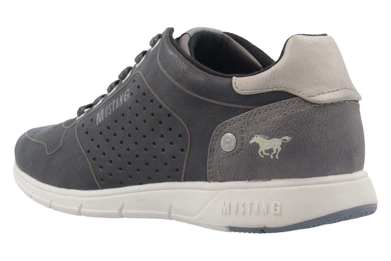 Mustang Shoes Halbschuhe in Übergrößen Grau 4115-303-259 große Herrenschuhe – Bild 2