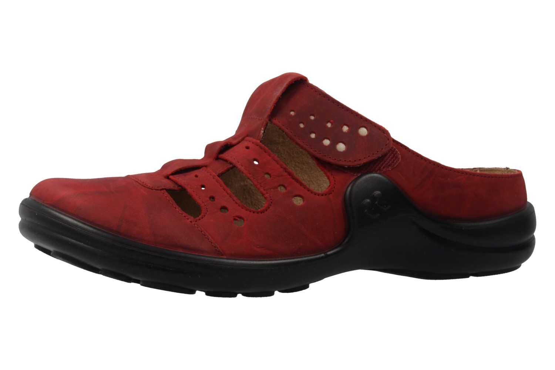ROMIKA - Damen Clogs - Maddy 20 - Rot Schuhe in Übergrößen – Bild 1