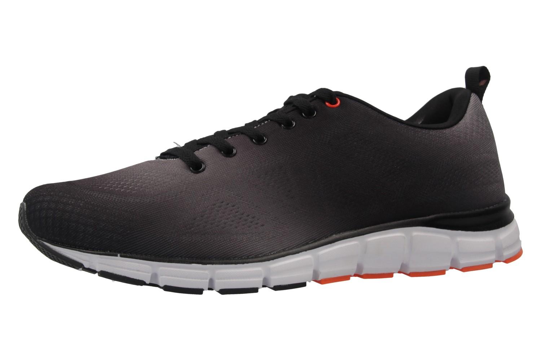 Boras Sneaker in Übergrößen Schwarz 5201-0114 große Herrenschuhe – Bild 1
