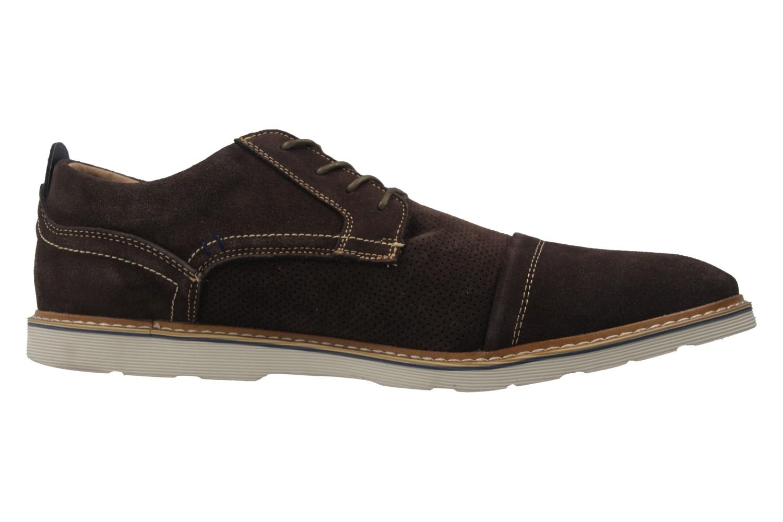 BORAS - Herren Halbschuhe - Braun Schuhe in Übergrößen – Bild 4