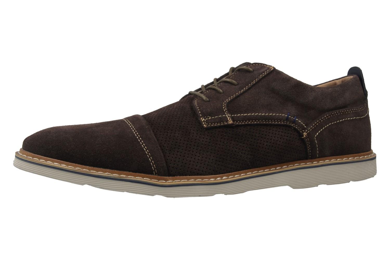 BORAS - Herren Halbschuhe - Braun Schuhe in Übergrößen – Bild 1