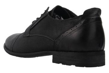 BORAS - Herren Halbschuhe - Schwarz Schuhe in Übergrößen – Bild 2
