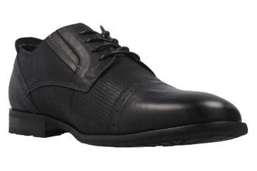 BORAS - Herren Halbschuhe - Schwarz Schuhe in Übergrößen – Bild 5