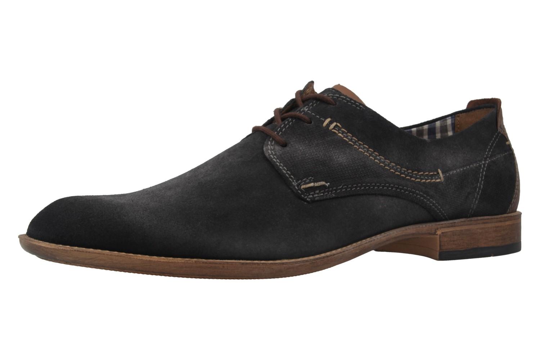 FRETZ MEN - Herren Business Schuhe - Tosco - Blau Schuhe in Übergrößen – Bild 1