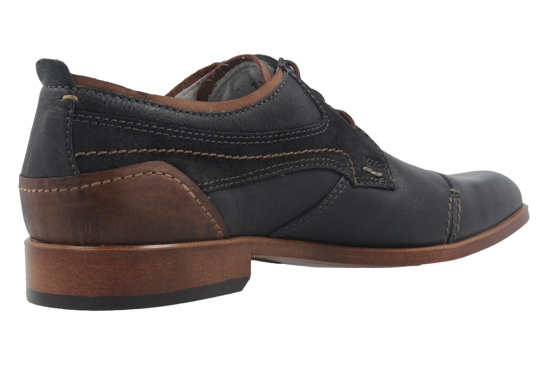 FRETZ MEN - Herren Business Schuhe - Oskar - Blau Schuhe in Übergrößen – Bild 3