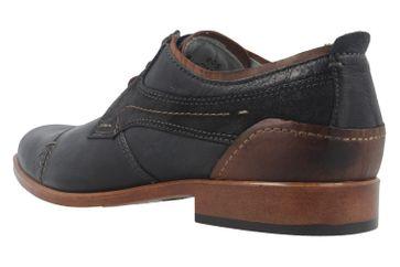 FRETZ MEN - Herren Business Schuhe - Oskar - Blau Schuhe in Übergrößen – Bild 2