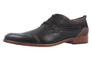 FRETZ MEN - Herren Business Schuhe - Oskar - Blau Schuhe in Übergrößen