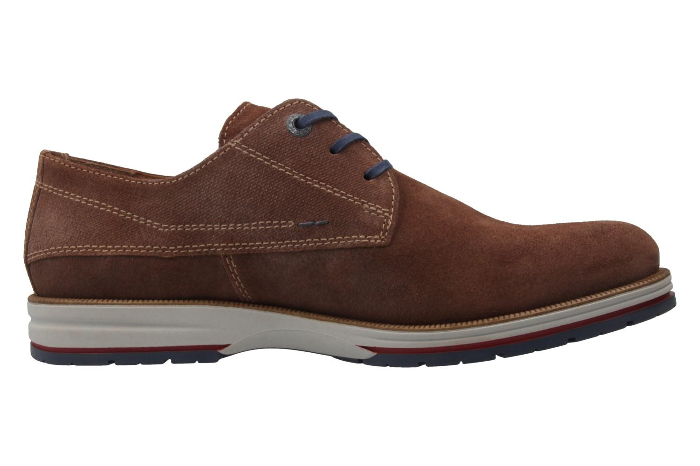 FRETZ MEN - Herren Halbschuhe - Steven - Braun Schuhe in Übergrößen – Bild 4