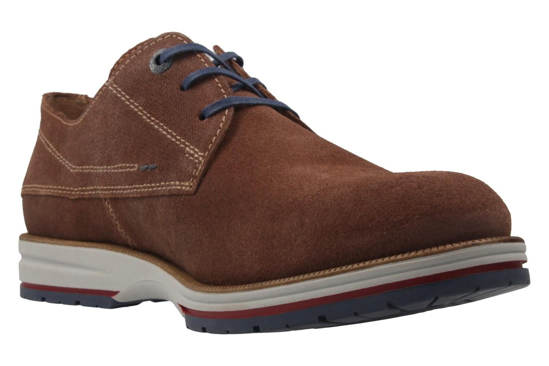 FRETZ MEN - Herren Halbschuhe - Steven - Braun Schuhe in Übergrößen – Bild 5